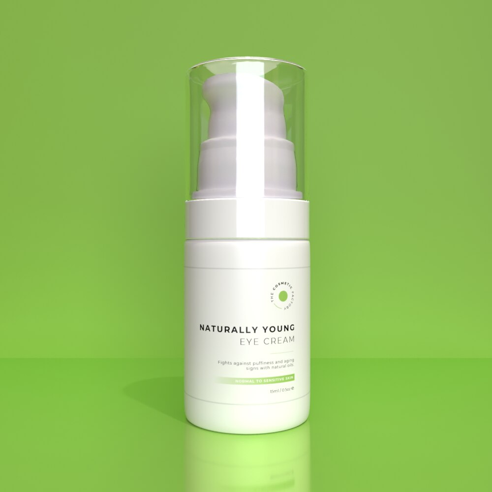 Naturally Young Eye Cream - Fights against pufiness and aging signs with natural oils