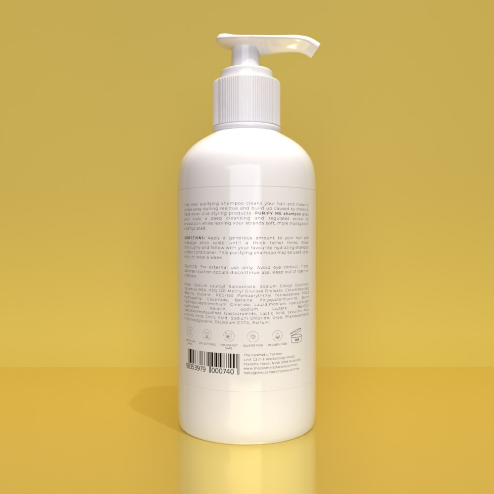 PURIFY ME SHAMPOO - Instantly removes dulling residue