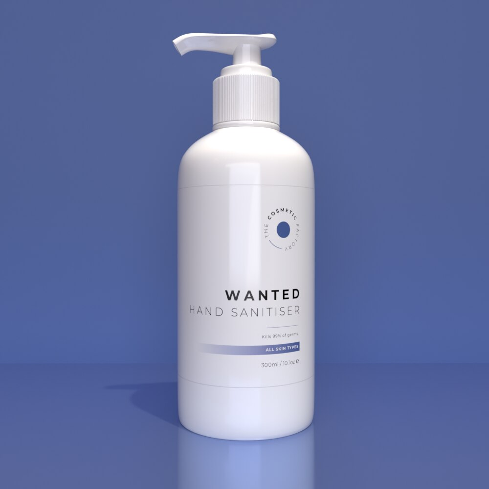 WANTED HAND SANITISER - Kills 99% of germs
