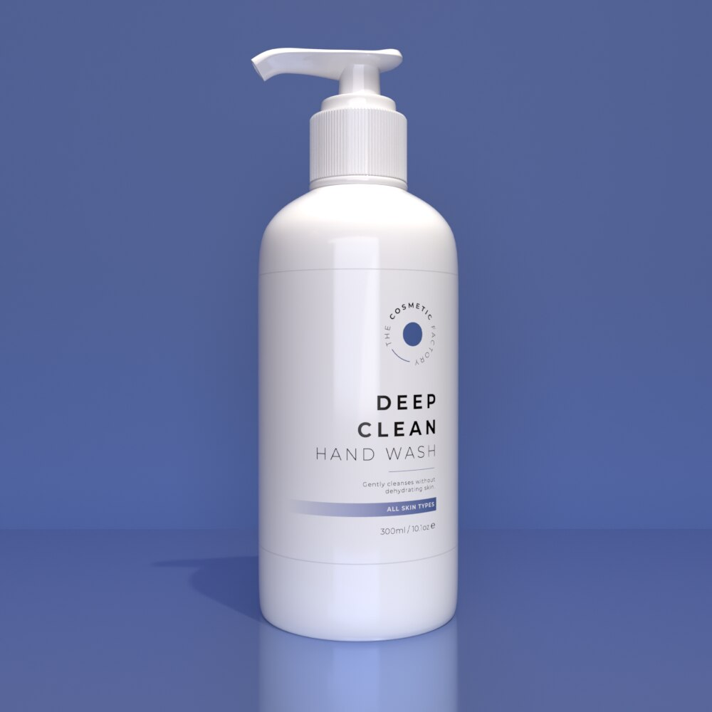 DEEP CLEAN HAND WASH - Gently cleanses without dehydrating skin