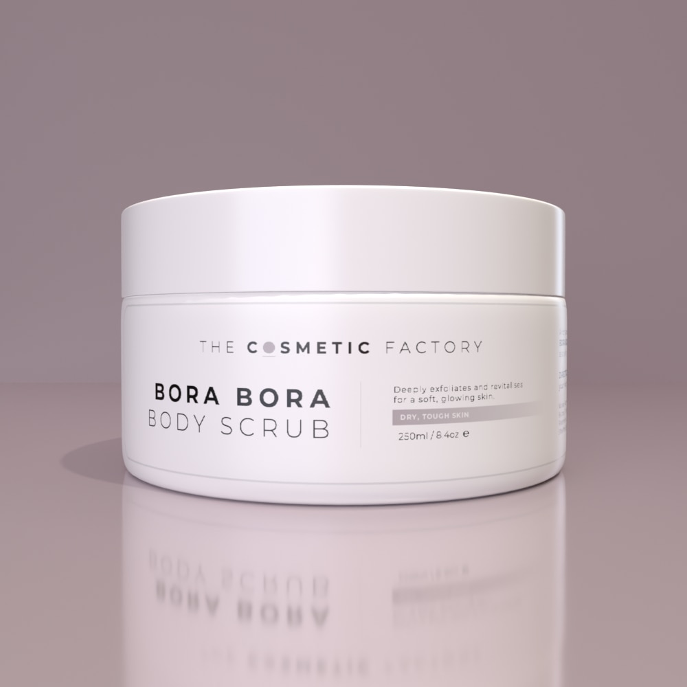 BORA BORA BODY SCRUB - Deeply exfoliates and revitalises for a soft, glowing skin