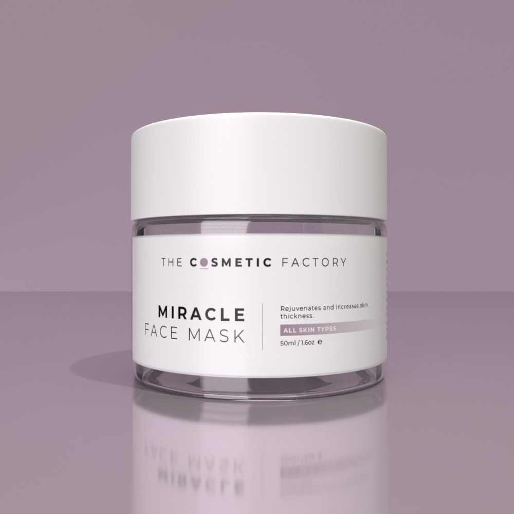 MIRACLE FACE MASK - Rejuvenates and increases skin thickness