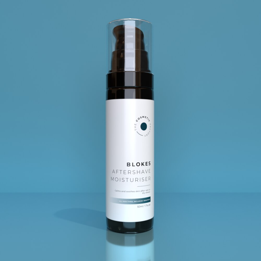 BLOKES AFTERSHAVE MOISTURISER - Calms and soothes skin after wet or dry shave