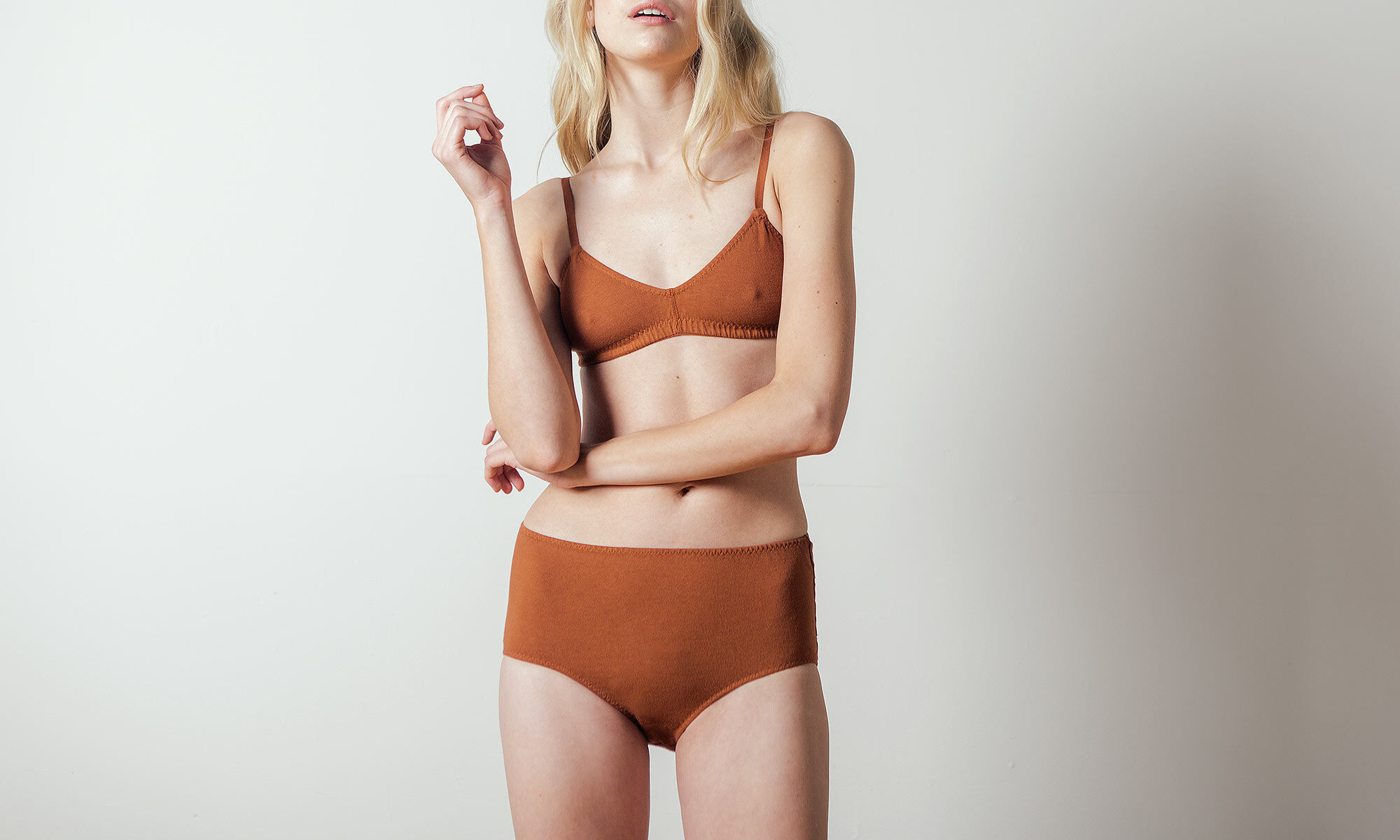 Bra in Rust by Pansy