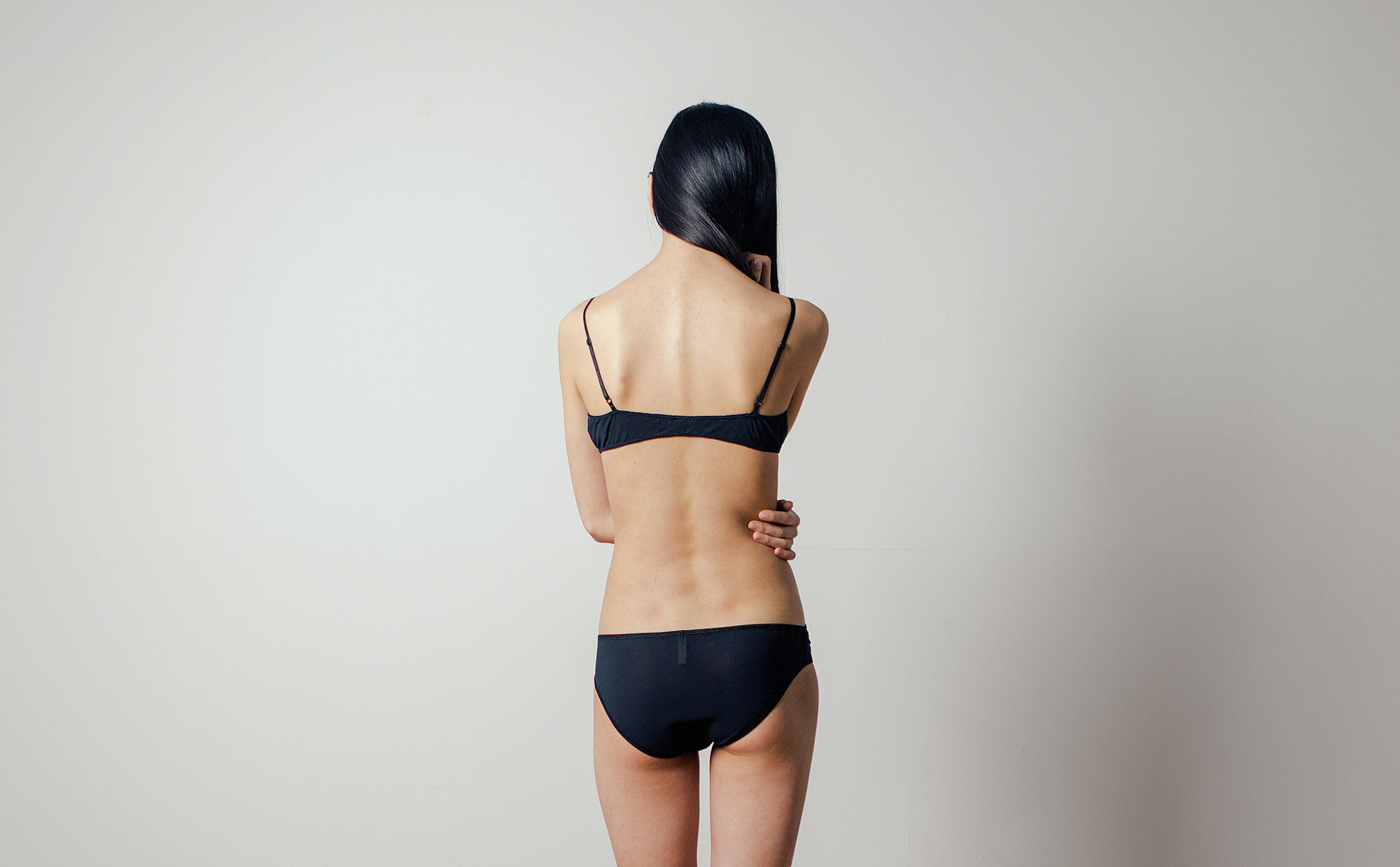 Flora Bikini in Midnight by Botanica Workshop