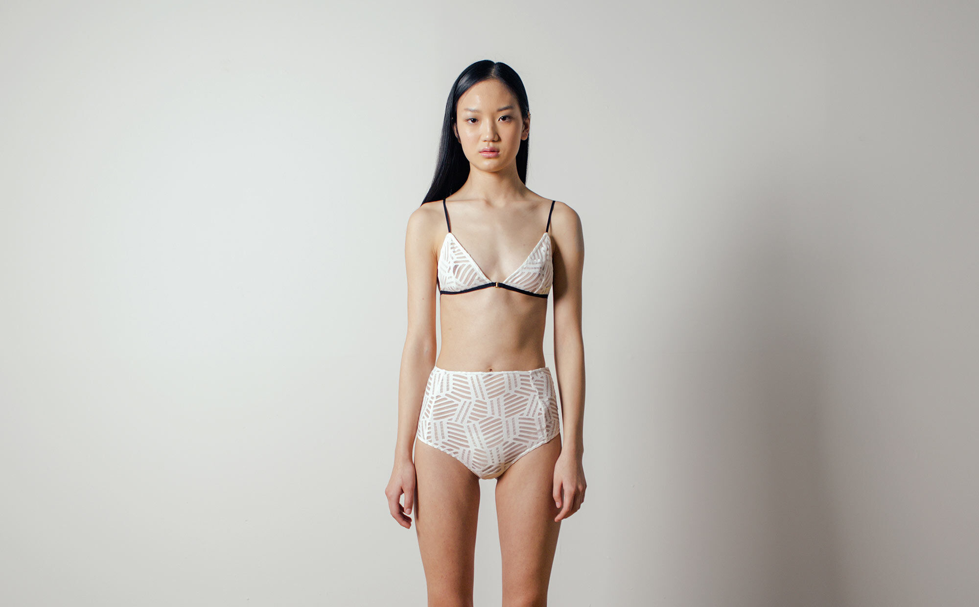 Adjustable front bikini