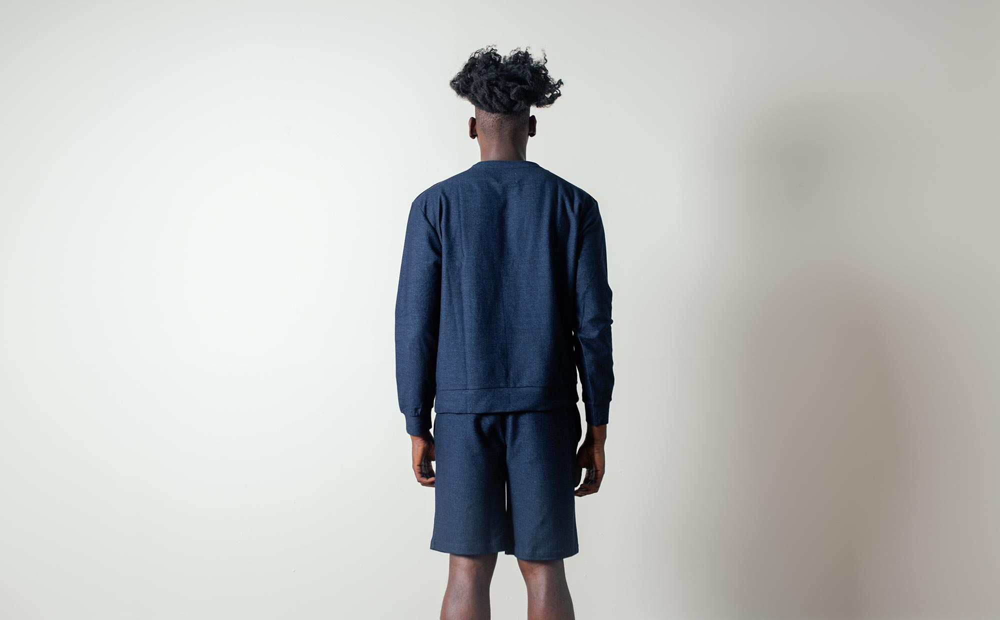 Nata Shorts in Navy by Coltesse