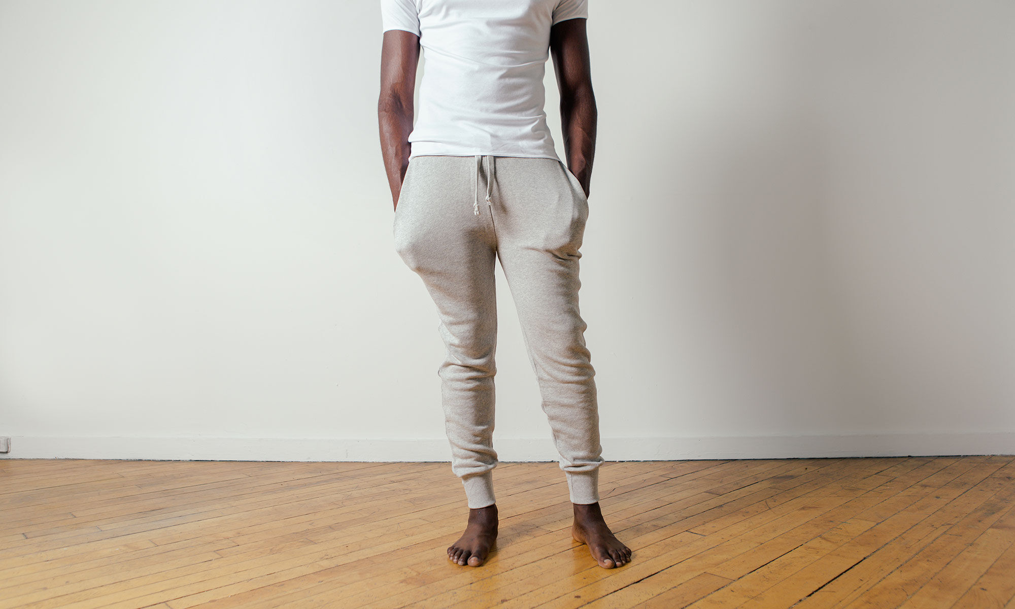 Cheap Sale Online Sweat pants Charger white The White Briefs Shop For Cheap Price Original Cheap Online npyPN