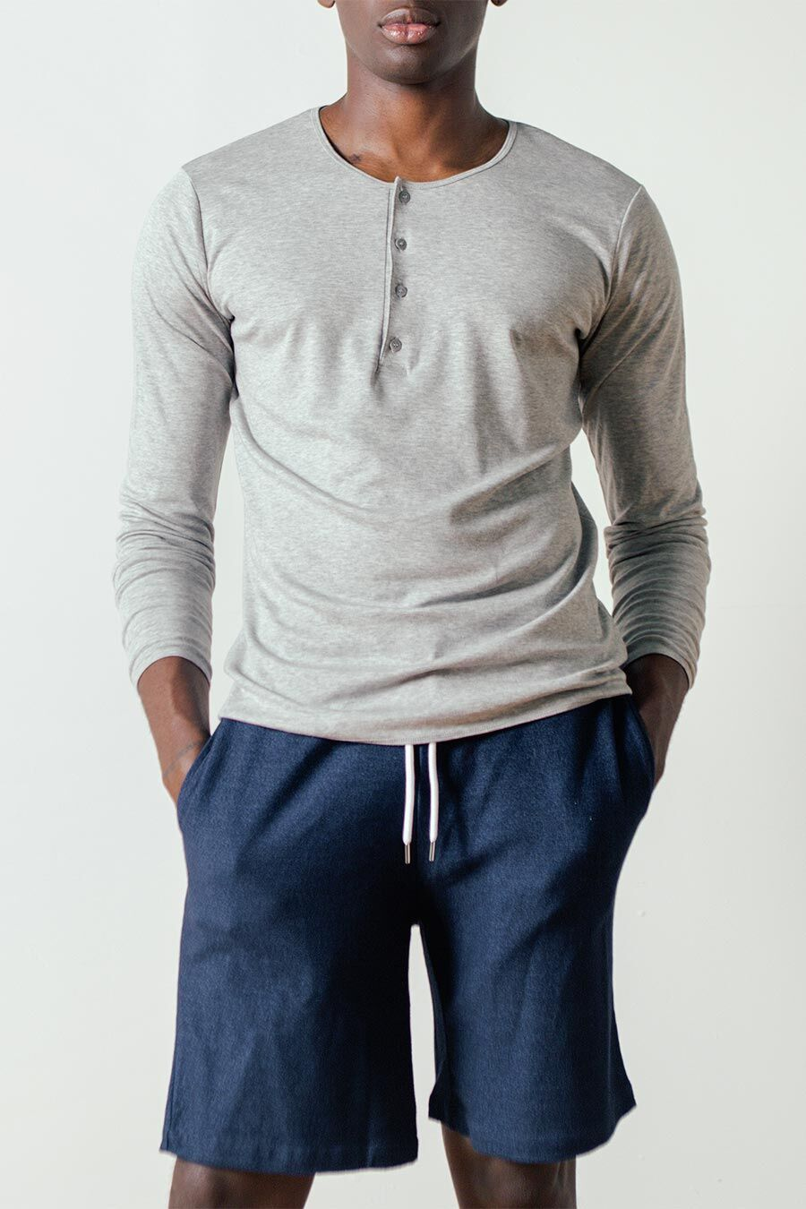 Birch Long Sleeved Henley