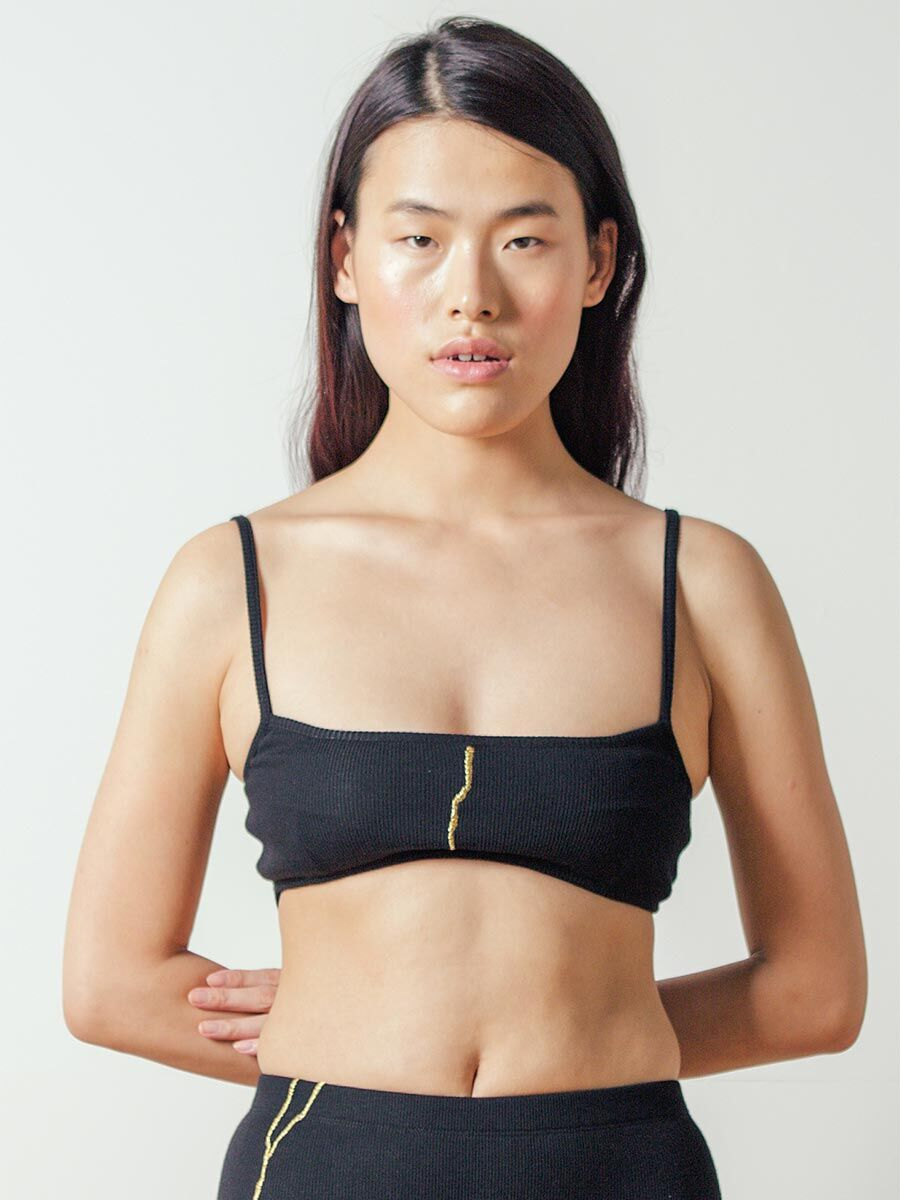 Embroidered G-tang Top