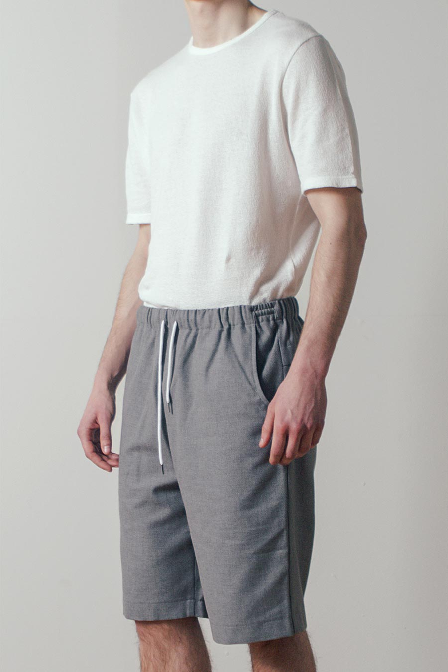 Balance Short in Gray by Coltesse