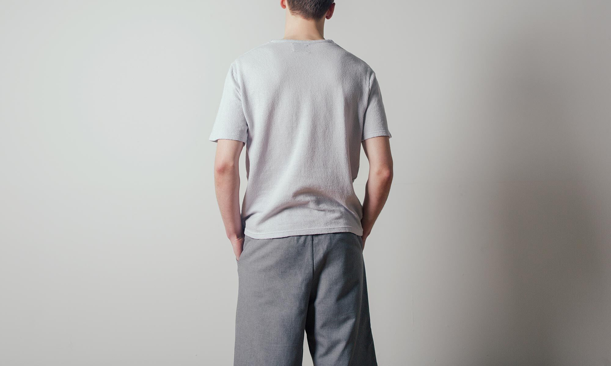 Jungle T-shirt in Ice Gray by Coltesse