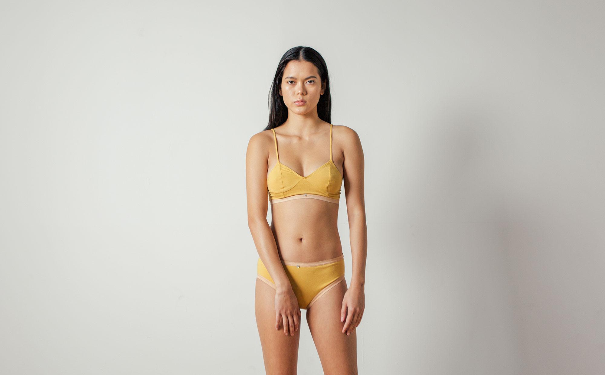 Lila Bikini in Ochre by Botanica Workshop