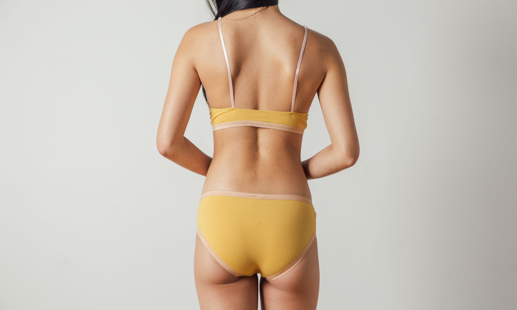 Lila Bikini in Ochre by Botanica Workshop