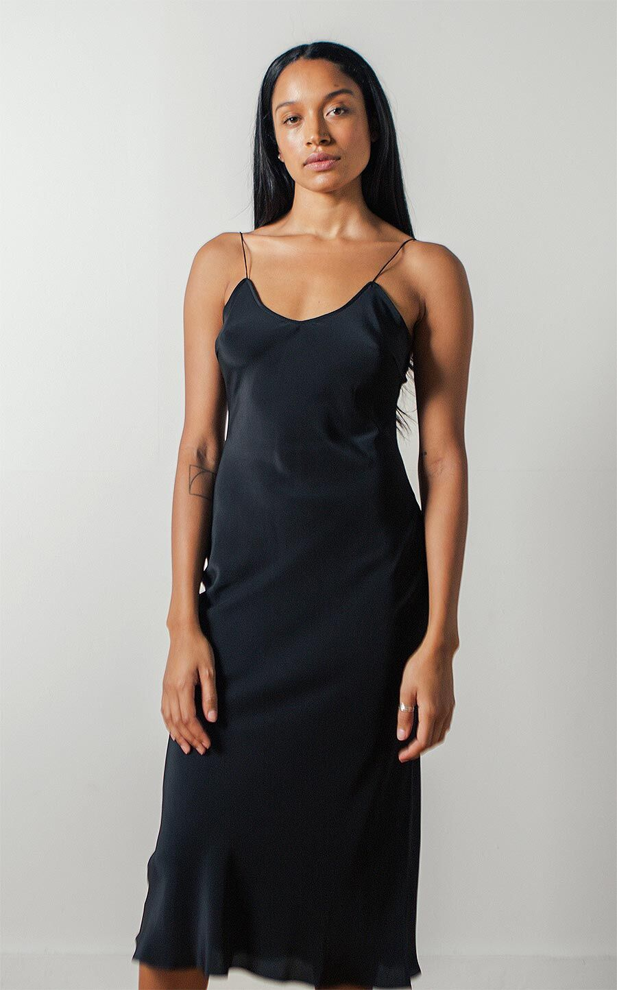 Sandoval Laced Slip Dress