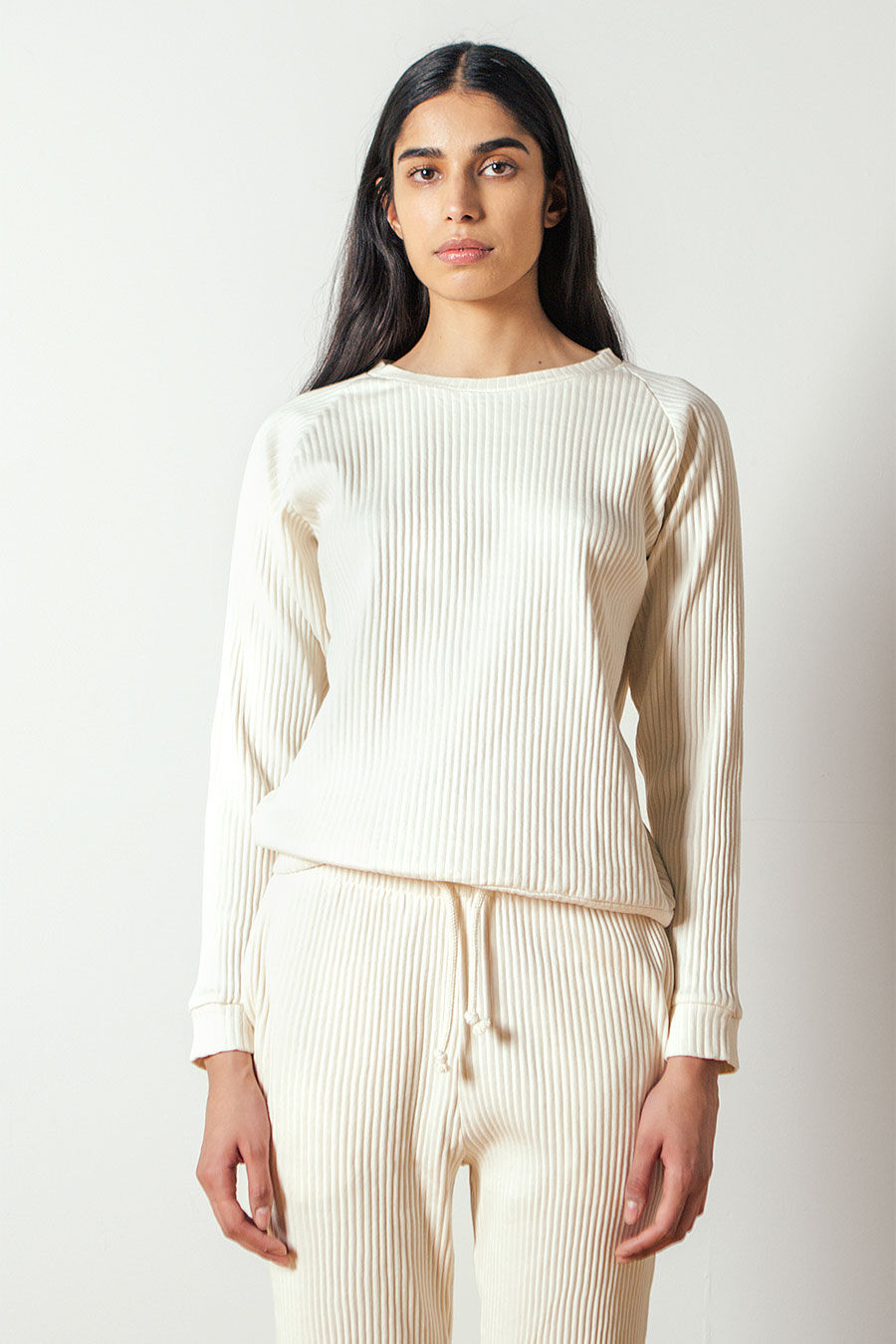 Basic Sweatshirt Rib