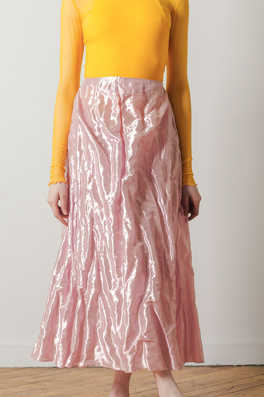 Crushed Dirndl Skirt